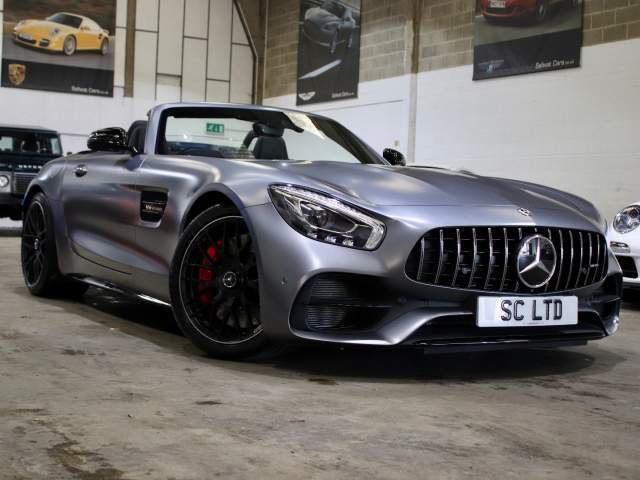 2018 18 Reg Mercedes-Benz AMG GT C 4.0 V8 Bi-Turbo Roadster DCT, £92,990
