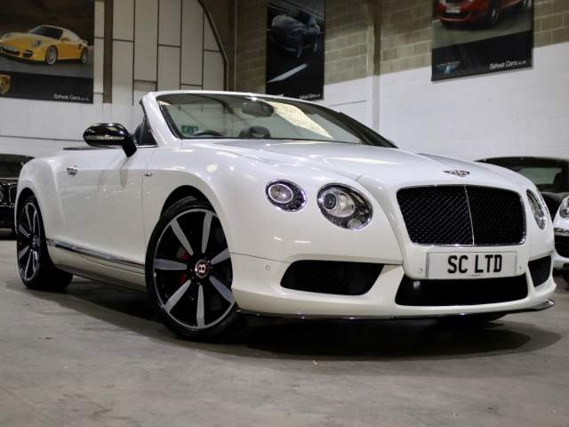 2014 14 Reg Bentley Continental GT 4.0 V8 S Mulliner Convertible, £71,990
