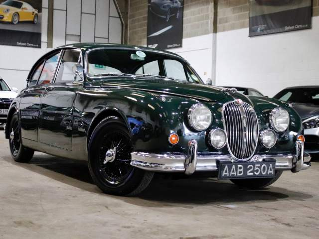 1963 A  Reg Jaguar Mark II  MK 2 3.8 5 Speed Manual, £39,990
