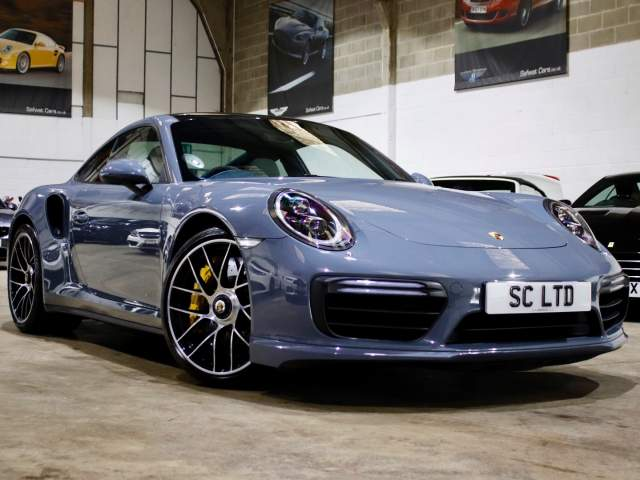 2018 18 Reg Porsche 911 3.8 Turbo S PDK Coupe, £134,990