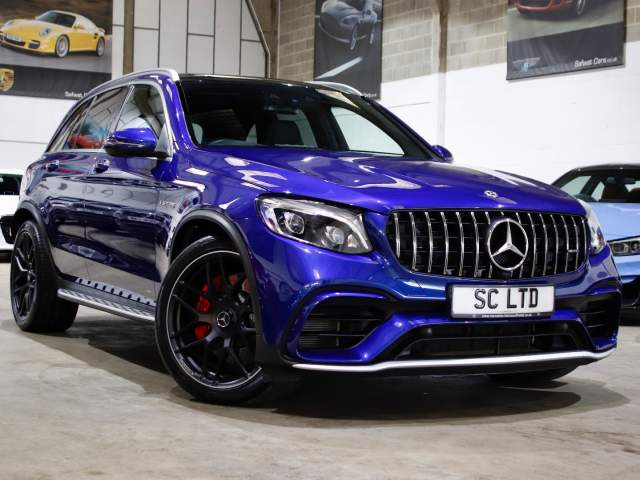 2018 68 Reg Mercedes-Benz GLC-Class 4.0 GLC 63 V8 Bi-Turbo AMG S, £55,990
