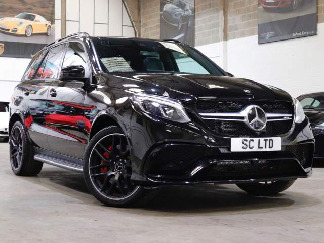 2018 68 Reg Mercedes-Benz GLE Class 63 AMG 5.5 V8 S Night Edition 4MATIC, £58,990