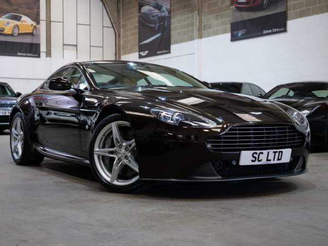 2015 65 Reg Aston Martin Vantage 4.7 V8 Manual Coupe, £49,990