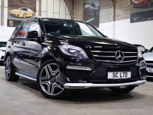 2015 15 Reg Mercedes-Benz M-Class ML63 AMG 5.5 V8 Premium Speedshift 7G-Tronic 4MATIC , £31,990