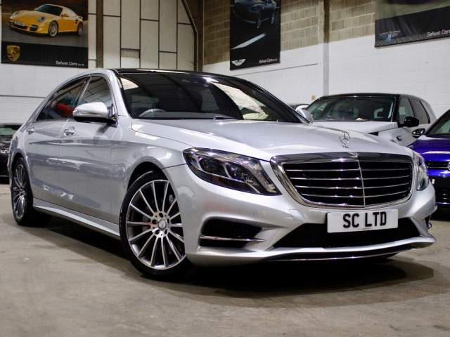 2017 17 Reg Mercedes-Benz S-Class S500L 4.7 AMG Line Executive LWB, £38,990