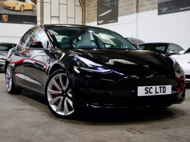 2019 19 Reg Tesla Model 3 Dual Motor Performance Auto, £52,990