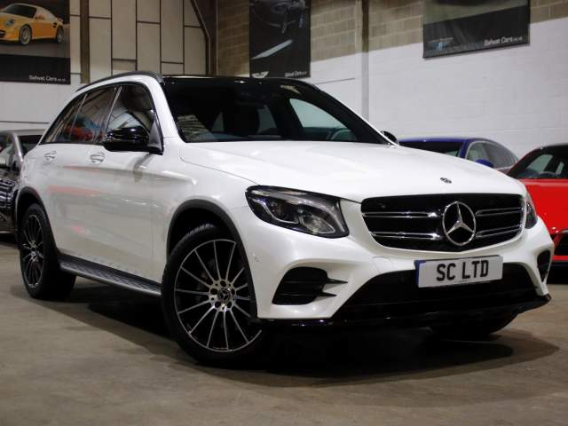 2018 18 Reg Mercedes-Benz GLC-Class 220D AMG Line Premium Plus , £28,990