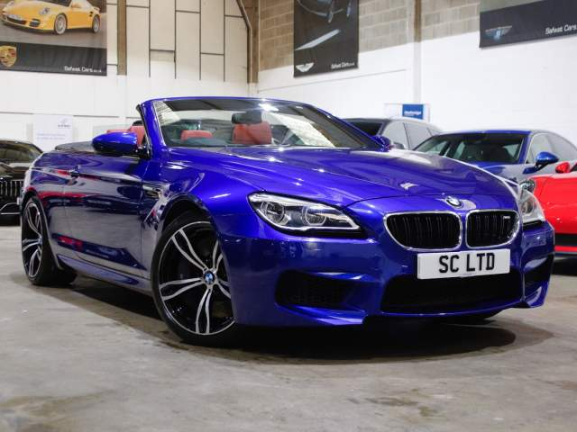 2017 67 Reg BMW M6 4.4 V8 Convertible, £39,990