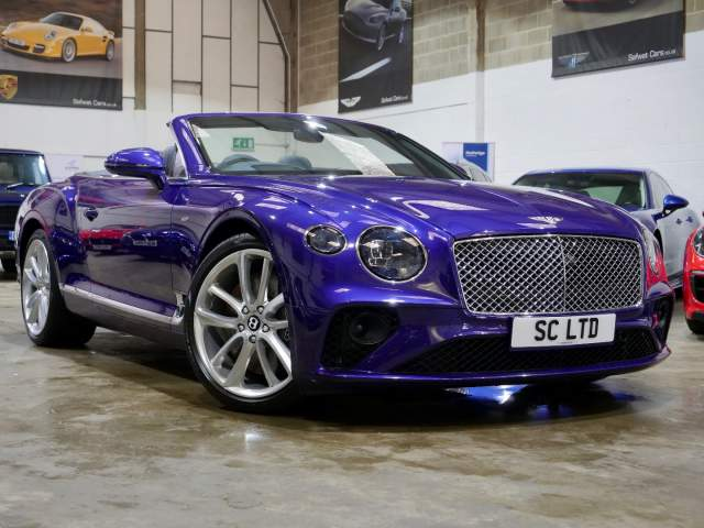 2020 20 Reg Bentley Continental 4.0 V8 GTC Auto , £164,990