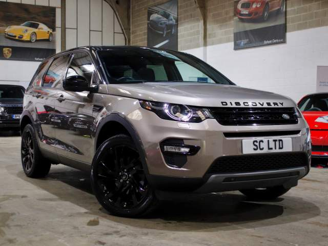 2017 17 Reg Land Rover Discovery Sport 2.0 TD4 HSE Black Auto 7 Seat, £26,990