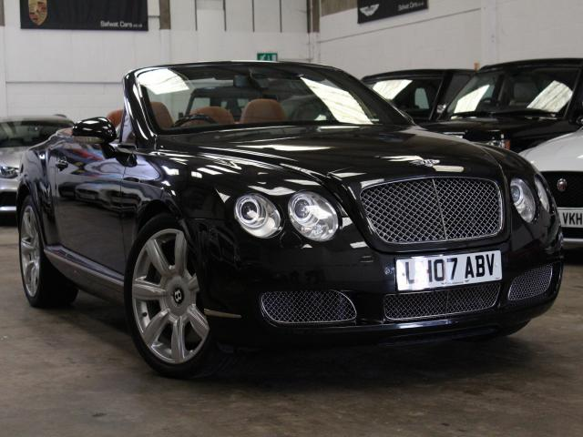 Bentley Continental 6.0 W12 GTC Convertible