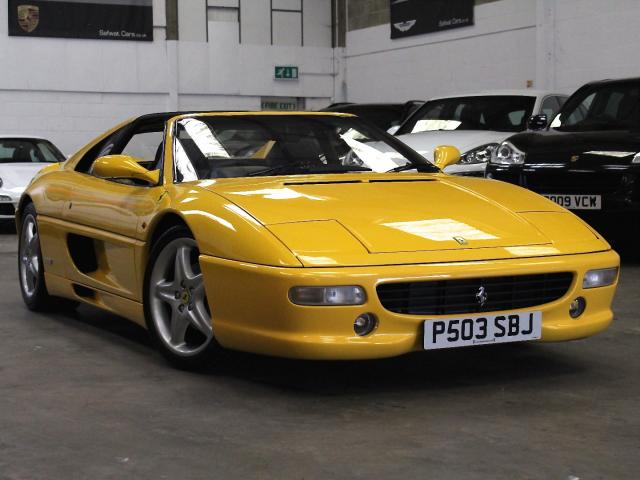 1997 P  Reg Ferrari F355 3.5 GTS Manual, £79,990