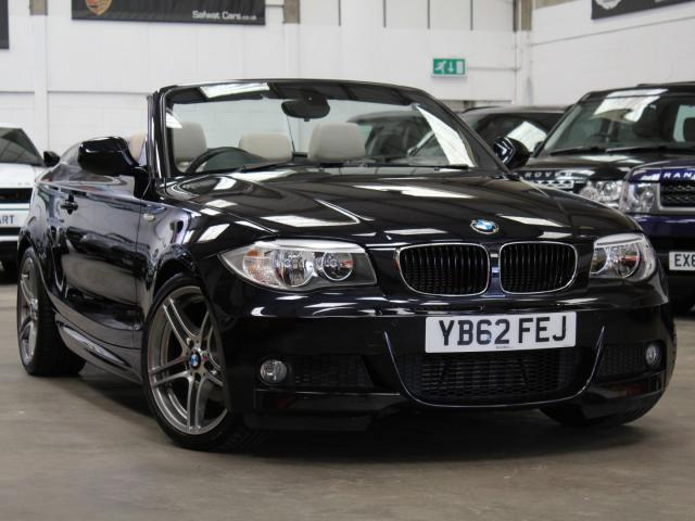 2012 62 Reg BMW 118 D Spt Plus Edition Auto Convertible , £15,490
