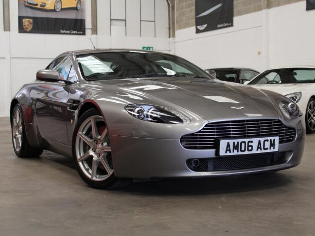 2006 06 Reg Aston Martin V8 Vantage 4.3 Coupe Manual, £34,990