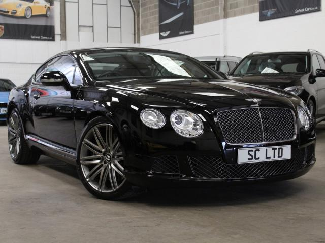 2013 62 Reg Bentley Continental 6.0 W12GT Speed Coupe , £78,490