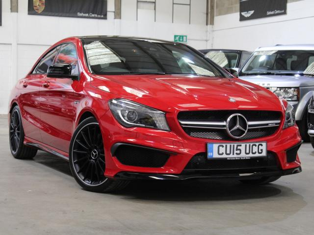 2015 15 Reg Mercedes-Benz CLA 45 AMG Coupe , £28,990