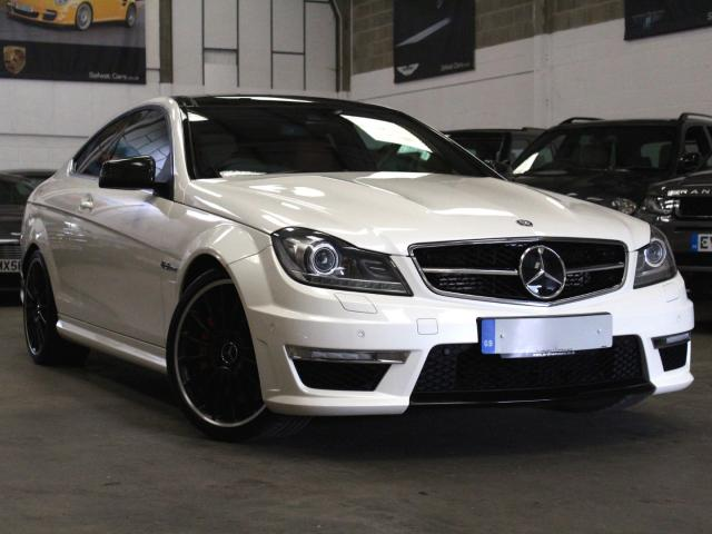 2012 12 Reg Mercedes-Benz C 63 AMG 6.3 AMG Coupe Performance Pack , £33,990