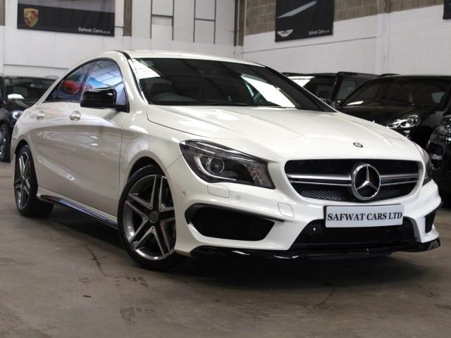 2014 14 Reg Mercedes-Benz CLA 45 2.0 AMG 4MATIC Coupe , £29,390