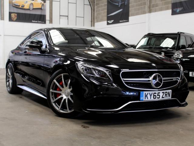 2015 65 Reg Mercedes-Benz S 63 AMG 5.5 V8 Bi-Turbo Coupe , £86,990