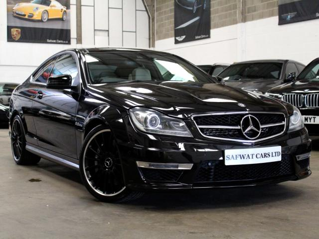 2013 13 Reg Mercedes-Benz C 63 AMG 6.3 Coupe , £29,990