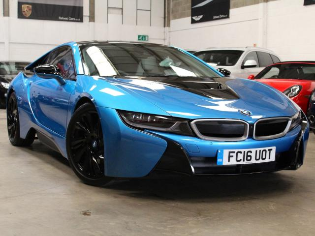 2016 16 Reg BMW i8 1.5 Coupe Auto , £71,990