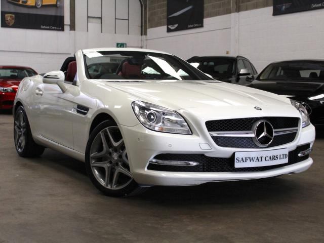 2013 13 Reg Mercedes-Benz SLK 200 1.8 BlueEff 7G-Tronic Plus , £16,490