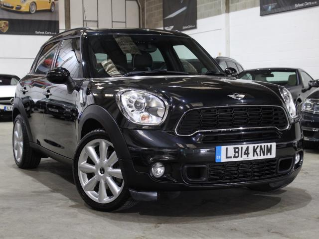 2014 Mi Reg Mini Mini Countryman 1.6 ALL4 Cooper S Chili Pack Auto , £16,390