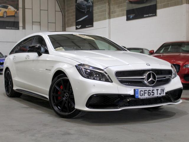 2015 65 Reg Mercedes-Benz CLS 63 AMG S Shooting Brake Estate , £49,990