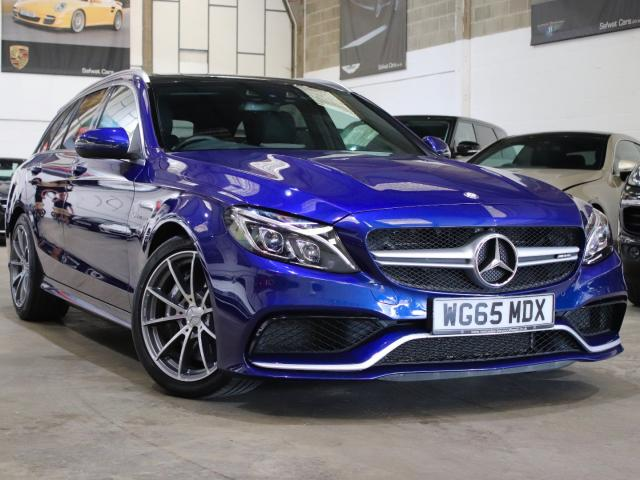 2015 65 Reg Mercedes-Benz C 63 AMG C63 4.0 AMG Auto Estate , £37,990