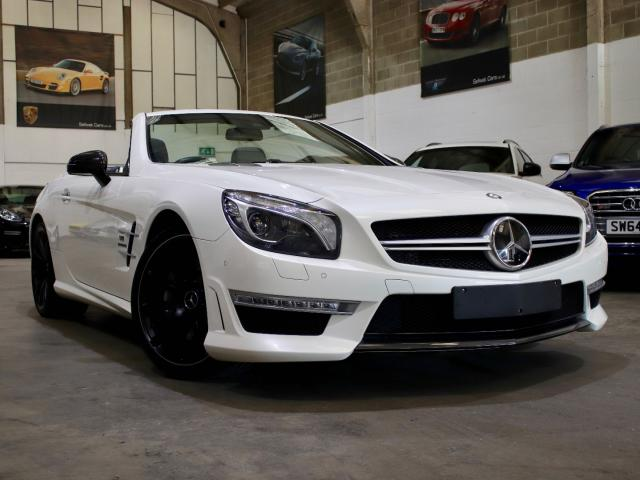 2013 63 Reg Mercedes-Benz SL 63 AMG 5.5 V8 Bi-Turbo, £47,990