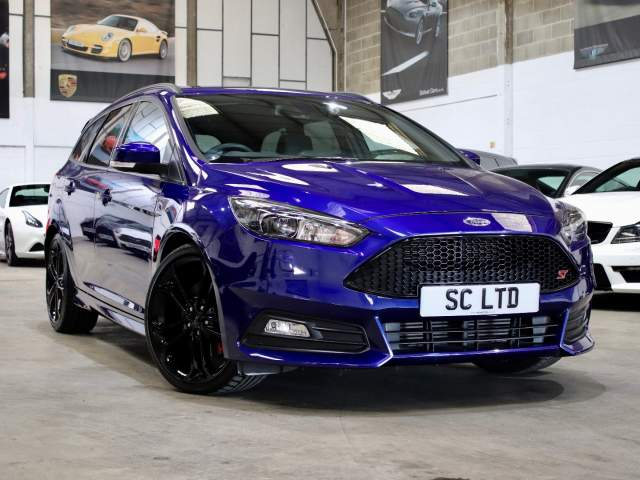 2017 67 Reg Ford Focus 2.0 T EcoBoost ST-3 Manual, £19,990