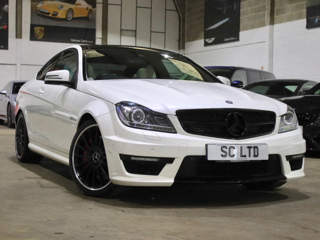 2012 12 Reg Mercedes-Benz C-Class C63 AMG 6.3 V8 Performance Pack Coupe, £26,990