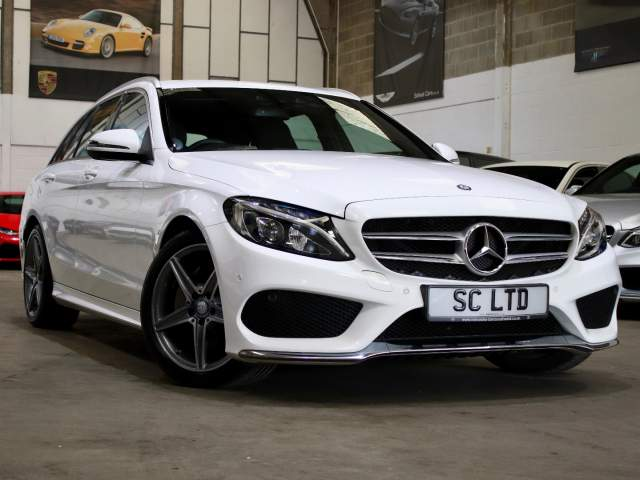 2016 66 Reg Mercedes-Benz C-Class  C220d AMG Line Auto Estate, £19,990