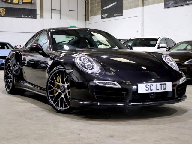 2013 63 Reg Porsche 911 3.8 991 Turbo S PDK Coupe, £82,690